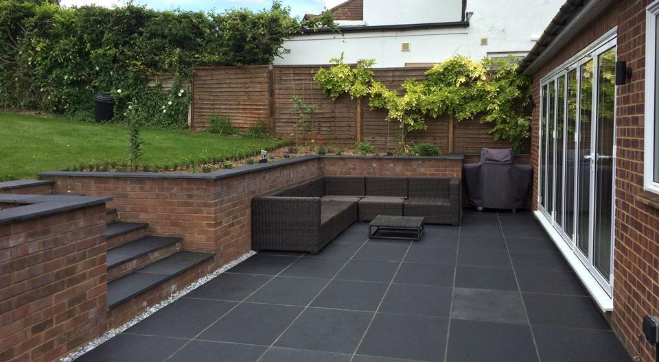 The green garden company buckinghamshire garden design for Garden step designs uk